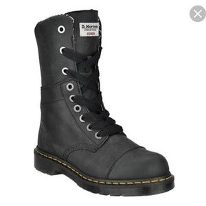 WOMEN'S DR. MARTEN'S INDUSTRIAL STEEL TOE BOOTS